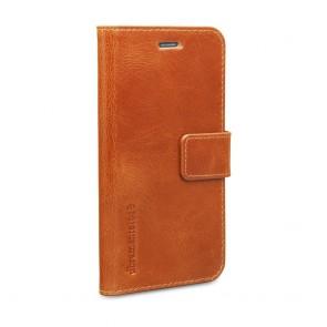 dbramante1928 Copenhagen Leather Wallet Samsung S6 Tan voorkant schuin links