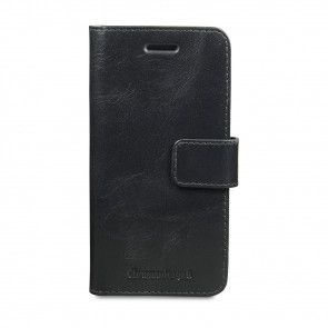 dbramante1928 Copenhagen Leather Wallet Samsung S7 Black voorkant