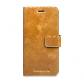 dbramante1928 Copenhagen Leather Wallet Samsung S7 Edge Tan voorkant