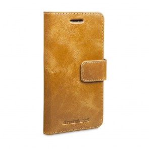 dbramante1928 Copenhagen Leather Wallet Samsung S7 Tan voorkant schuin links