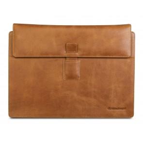 dbramante1928 Hellerup Leather Envelope Microsoft Surface Pro 3 Tan voorkant