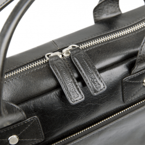 dbramante1928 Helsingborg Businessbag Dark Brown 14 inch Detail