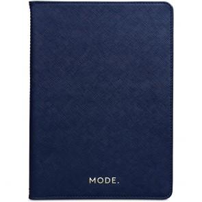 dbramante1928 Leren iPad Case 2017/2018 Mode Tokyo Evening Blue Voorkant