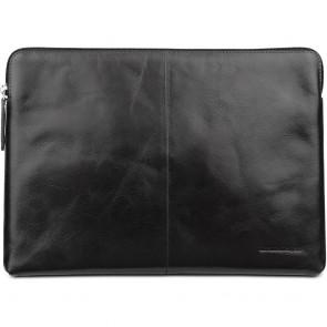 dbramante1928 Leren Laptop Sleeve 12 inch Skagen Donkerbruin Voorkant