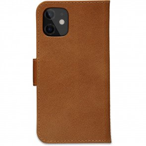 dbramante1928 Leren Wallet Hoesje iPhone 12 mini Copenhagen Tan Achterkant