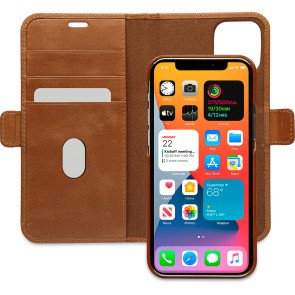 dbramante1928 Leren Wallet Hoesje iPhone 12 & 12 Pro Lynge Tan