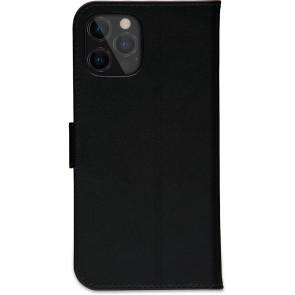 dbramante1928 Leren Wallet Hoesje iPhone 12 Pro Max Copenhagen Zwart Achterkant