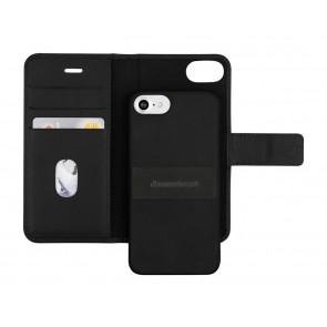 dbramante1928 Lynge 2 Leather Wallet iPhone 7 Black Open
