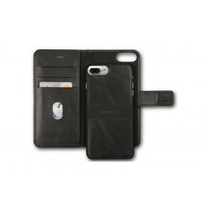 dbramante1928 Lynge 2 Leather Wallet iPhone 7 Plus Black Open