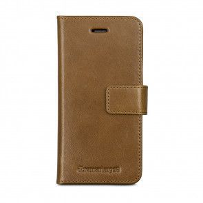 dbramante1928 Lynge 2 Leather Wallet iPhone 7 Tan Voorkant
