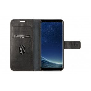 dbramante1928 Lynge 2 Leather Wallet Samsung S8 Hoesje Black Open