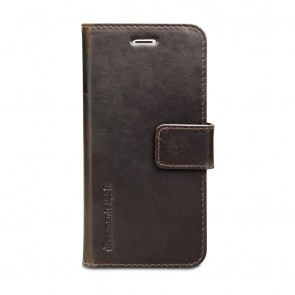 dbramante1928 Lynge Leather Wallet iPhone 6/6S Hunter Dark voorkant