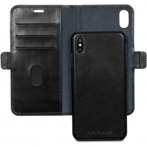 dbramante1928 Lynge Leather Wallet iPhone XR Zwart Open