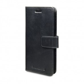 dbramante1928 Lynge Leather Wallet Samsung S7 Edge Black voorkant schuin rechts