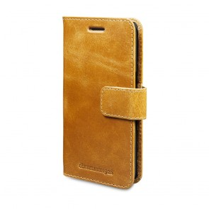 dbramante1928 Lynge Leather Wallet Samsung S7 Tan voorkant schuin rechts