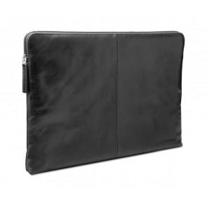 dbramante1928 Skagen Leather Sleeve MacBook 13 inch Dark Brown schuin voorkant links