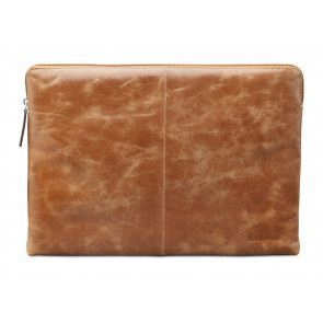 dbramante1928 Skagen Leather Sleeve MacBook 13 inch Tan voorkant