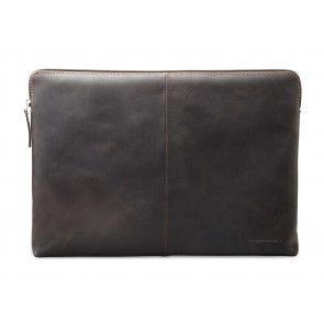 dbramante1928 Skagen Leather Sleeve MacBook 13 inch Hunter Dark voorkant