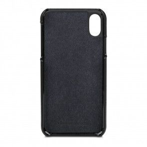 dbramante1928 Tune cc Leather Backcover iPhone X / XS Black Binnenkant