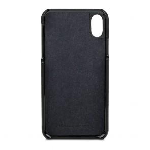 dbramante1928 Tune Leather Backcover iPhone X Black Binnenkant