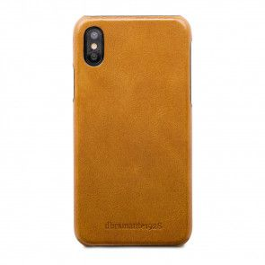 dbramante1928 Tune Leather Backcover iPhone X Tan Achterkant