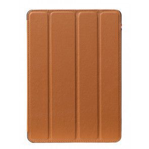 Decoded Leather Slim Cover iPad Pro 9,7 inch Brown Voorkant