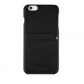 Decoded iPhone 6/6S Plus Leather Back Cover Black