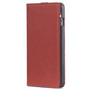 Decoded iPhone 6/6S Plus Leather Wallet Case Red Voorkant