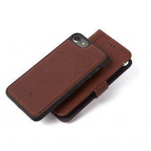 Decoded Leather 2 in 1 Wallet Case iPhone 7/6S/6 Brown