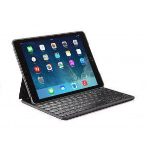 Decoded Leather Bluetooth keyboard case iPad Air 2 Black Stand
