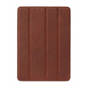 Decoded Leather Slim Cover iPad 2017 Brown Voorkant
