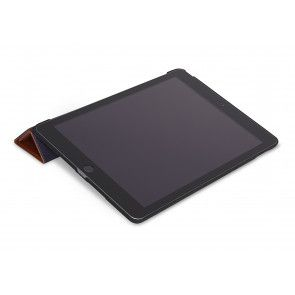 Decoded Leather Slim Cover iPad 2017 Brown Kijkstand