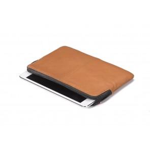 Decoded Leather Slim Sleeve iPad Mini Brown Liggend