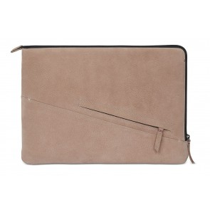 Decoded Leather Slim Sleeve MacBook Pro 13 inch / Pro Retina 13 inch Rose Voorkant