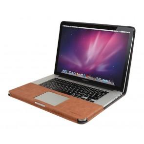 Decoded Leather Sleeve MacBook Pro 15 inch Retina Vintage Brown Binnenkant
