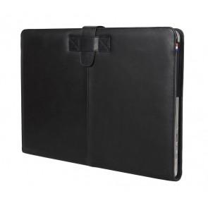 Decoded Leather Sleeve MacBook Pro 13 inch Retina Black Strap Voorzijde