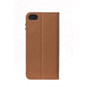 Decoded iPhone 6 Leather Surface Wallet Brown V2 Achterkant