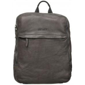 DSTRCT Pearl Street Backpack Grey 15.6 inch Voorkant