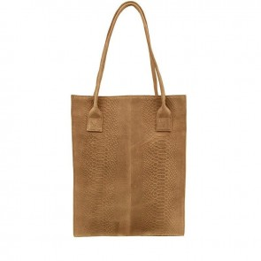 DSTRCT Portland Road A4 Shopper Taupe Voorkant
