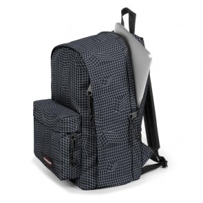 Eastpak Back to Work Rugzak Black Dance 15 inch Zijkant