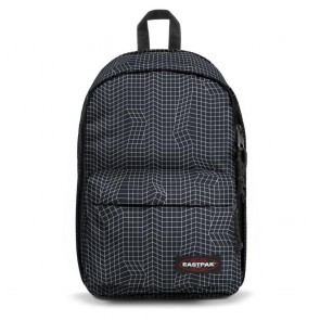Eastpak Back to Work Rugzak Black Dance 15 inch Voorkant