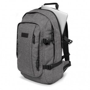 Eastpak Laptop Rugzak 17 inch Evanz Ash Blend Grijs Laptopvak