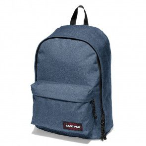 Laptoptas Eastpak Out of Office Rugzak Double Denim 14 inch Voorkant