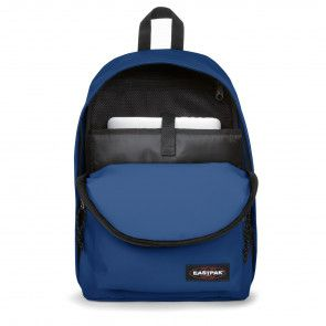 Eastpak Out of Office Rugzak Bonded Blue 14 inch Open