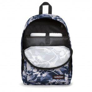 Eastpak Out of Office Rugzak Navy Ray 14 inch Open