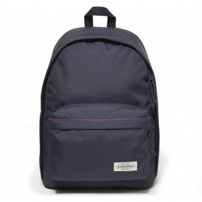 Eastpak Out of Office Rugzak Navy Stitched 14 inch Voorkant