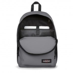 Eastpak Out of Office Rugzak Woven Grey 14 inch Open