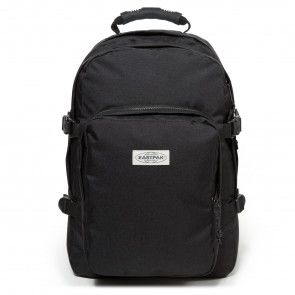 Eastpak Provider Rugzak Black Stitched 15 inch Voorkant