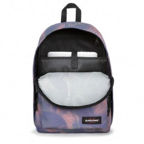 Laptoptas Eastpak Out of Office Rugzak Brize Blush 14 inch Open