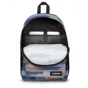 Laptoptas Eastpak Out of Office Rugzak Calm Marker 14 inch Open